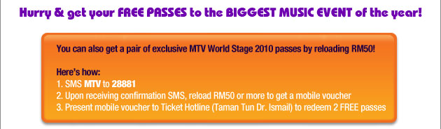 Get World Stage passes with XPax Promo_12