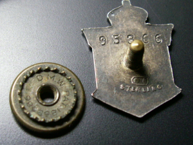 """WW1 """"CPF"""" Class A and a Class B Badge 00312"""