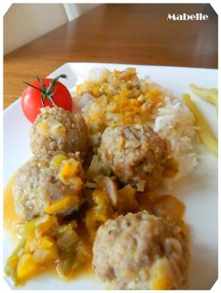 Boulettes thaïes au poulet  Boulet10