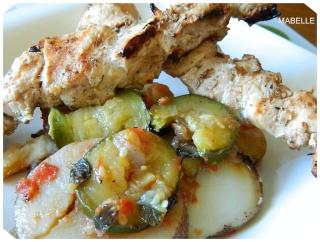 Briam (casserole de légumes grec) Broche11
