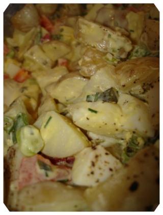 Salade de patates au babeurre Dsc05040
