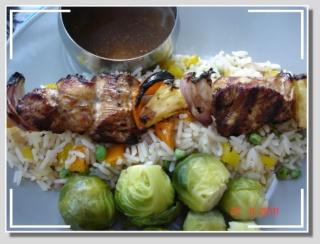 Brochette de poulet à la Coco Dsc05231