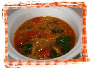 Soupe à la dinde et aux vermicelles de riz Dsc05822