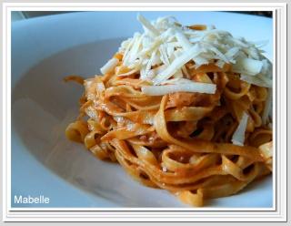Fettuccinis aux champignons et au prosciutto, aux pleurotes grillées Fettuc10