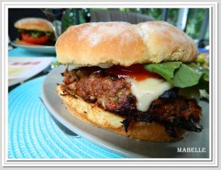 Hamburgers au boeuf à l'italienne Hambur10