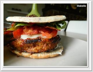 Burgers grilled cheese au brie et au bacon façon tartare Hambur12