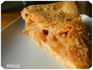 Tarte aux pommes et caramel ultra rapide! Tarte_15