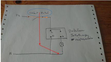 conseil électrique  (pose d'un capteur crépusculaire) Captu435