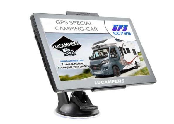 LUCAMPERS, LE GPS SPÉCIAL CAMPING-CAR Captu790