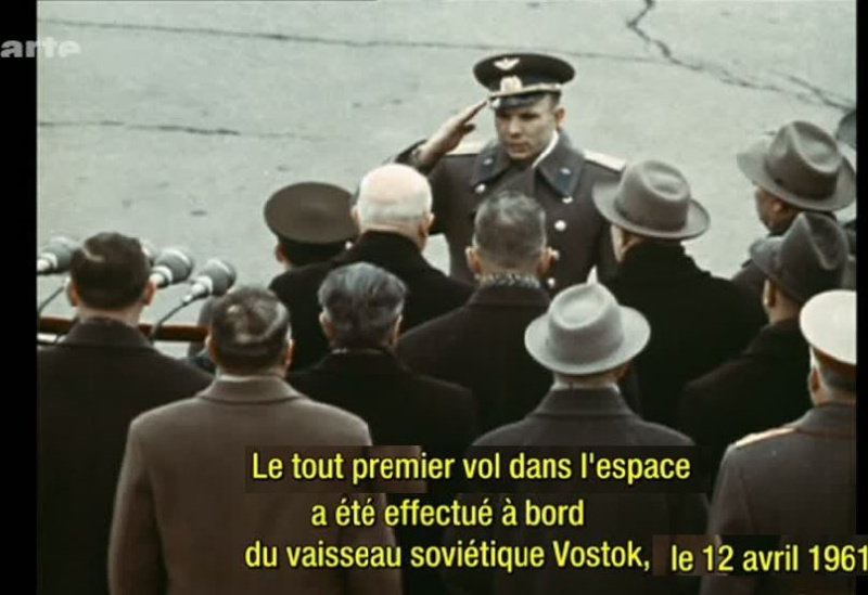 ARTE: 1961. Gagarine, premier homme dans l'espace 210