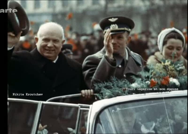 ARTE: 1961. Gagarine, premier homme dans l'espace 510