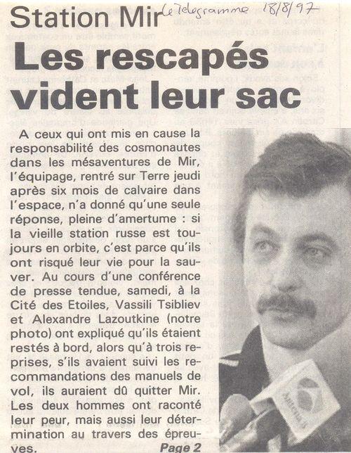 19 février 1986 - Station Spatiale MIR 97081810