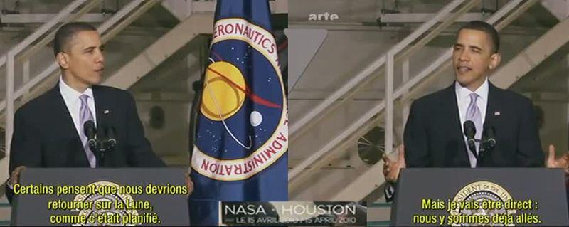 A quoi servent les astronautes? Obama10