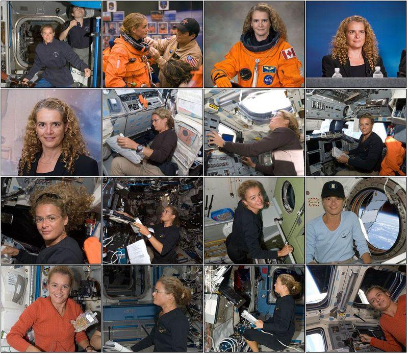Julie Payette - Astronaute canadienne Planch47