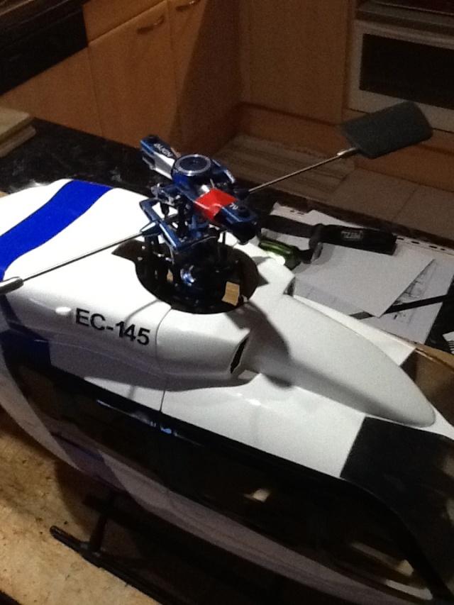 TRex 450 Sport + Fuso EC145 Trex4511