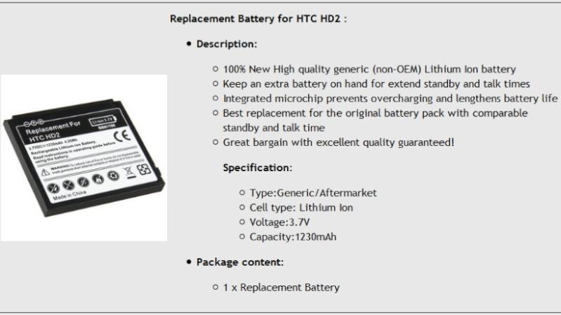Demande de renseignement à propos d'une batterie supplémentaire Batter10