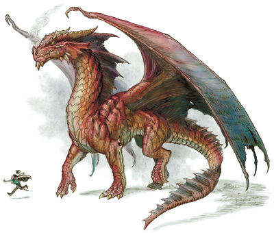 The Beastiary: Generic Red Dragon  14851r10