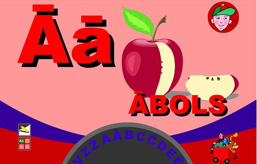Учим латышский алфавит G10