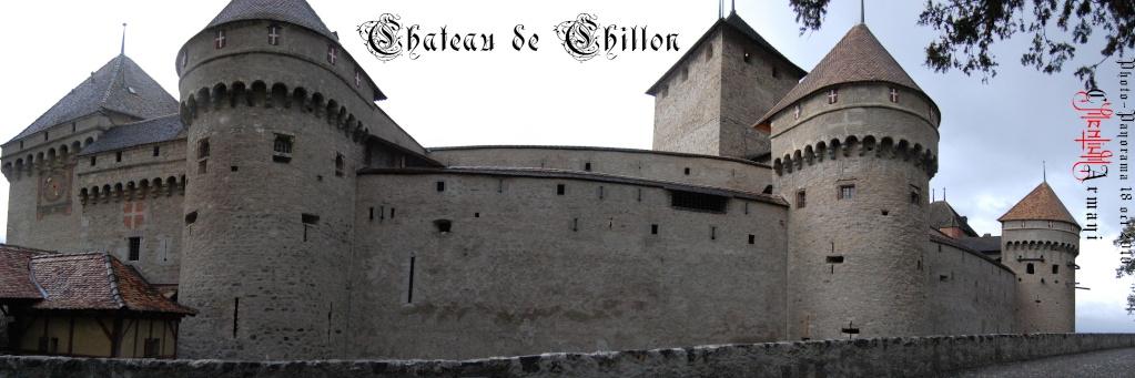 Château de CHILLON - Panoramas Chillo11