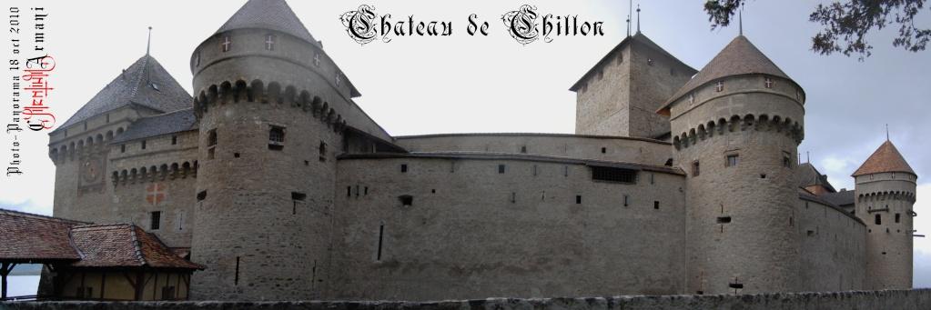 Château de CHILLON - Panoramas Chillo12