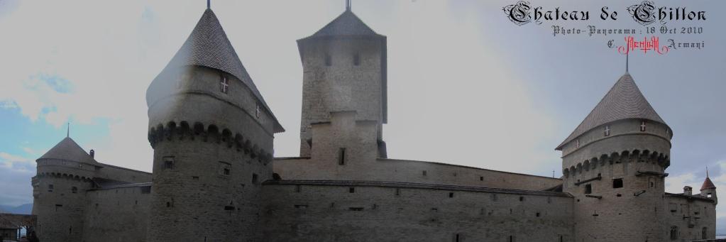 Château de CHILLON - Panoramas Chillo13