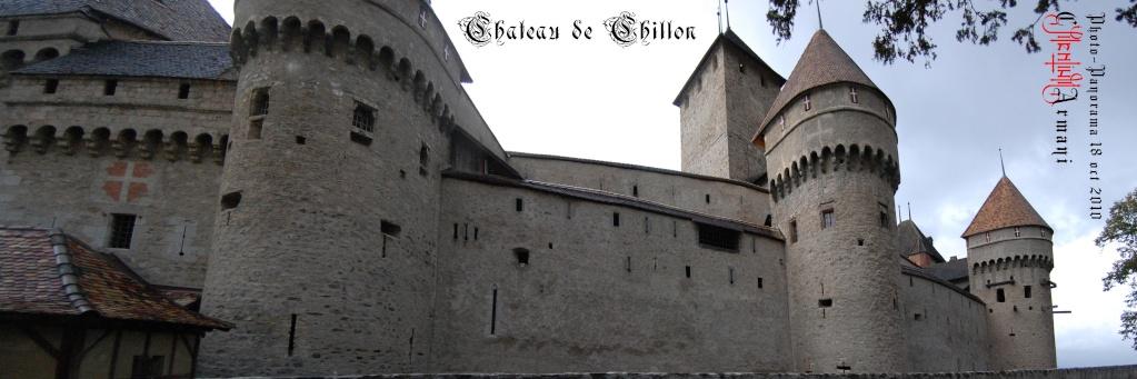 Château de CHILLON - Panoramas Chillo14