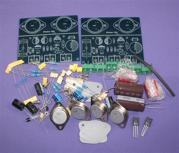 SC HOOD JLH 1969 10W+10W Class A amplifier kit Img_2410