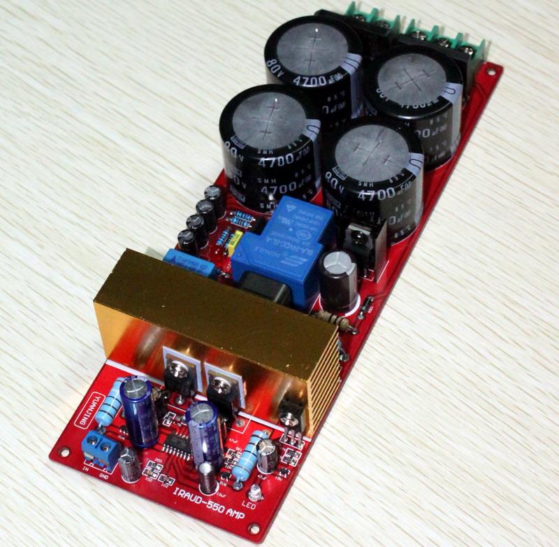 CxD250-HP: nuovo classe D Irs20910
