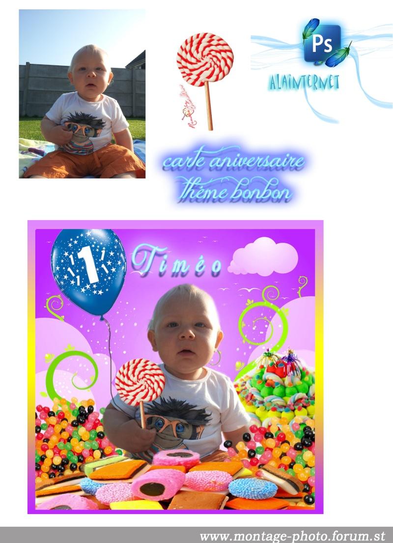 cartes anniversaire - Page 7 Bonbon10