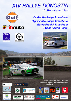 XIV Rallye Donostia (29/09/2012) Rallye10
