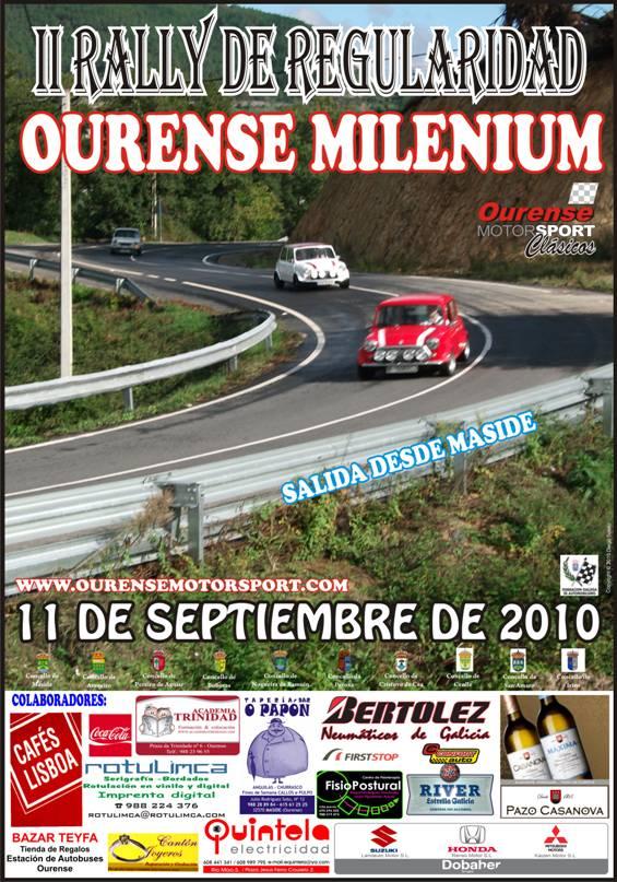 II Rally de Regularidad Ourense Milenium (11/09/2010) Secure10