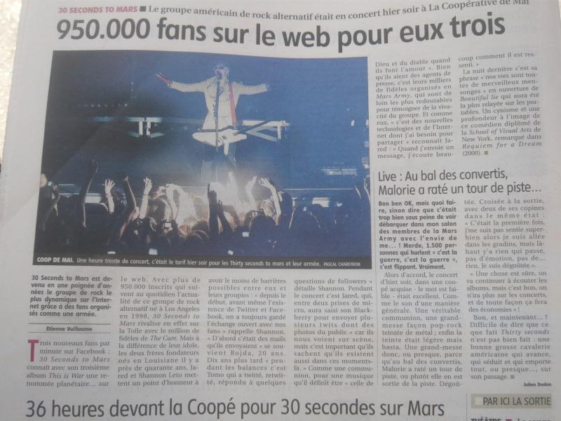 Journal La Montagne - 1/07/2010 P1070210