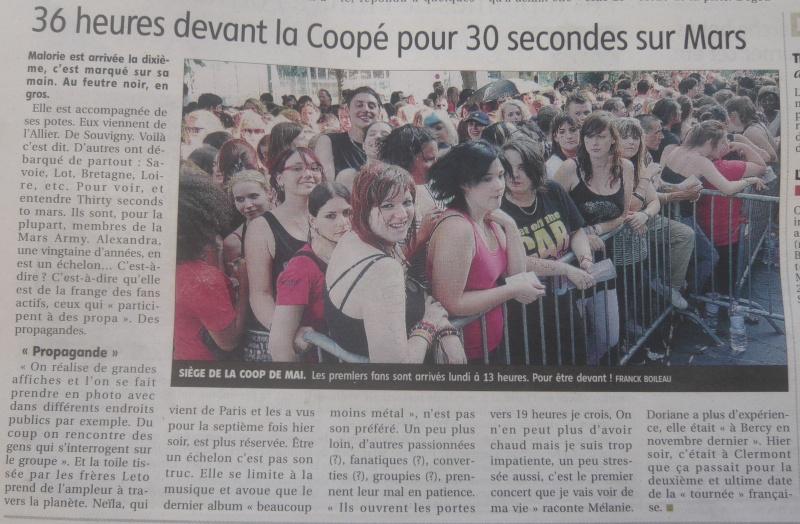 Journal La Montagne - 1/07/2010 P1070211