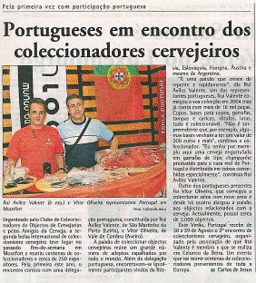 Noticia publicada no Jornal Contacto no Luxemburgo Viewer10