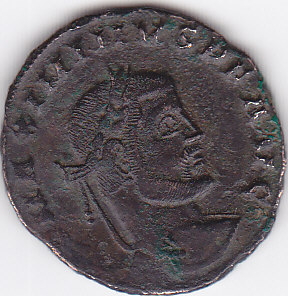 FOLLIS de billon pour MAXIMINUS II (310-313). Img16