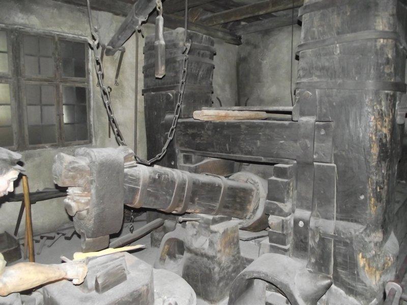 """Der """"Frohnauer Hammer"""" - Schmiede mit Wasserrad 2011_024"""