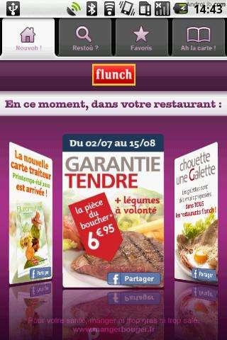 [SOFT] FLUNCH : Trouver un restaurant flunch, ..... [Gratuit]  Flunch10