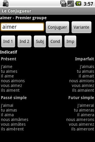 [SOFT] LE CONJUGUEUR : Conjuguer vos verbe [Gratuit]  Le_con10