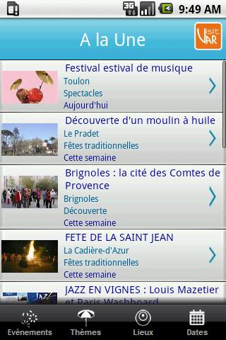 [SOFT] VAR EN FETE : Application officielle du tourisme Varois [Gratuit]  Var_en10