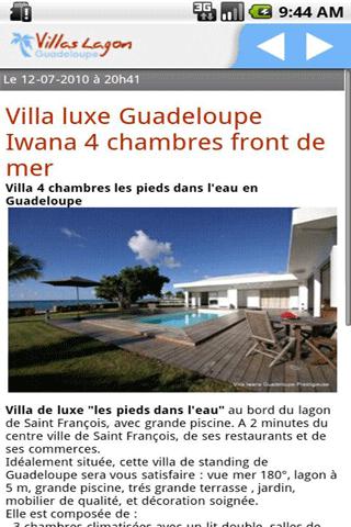 [SOFT] VILLAS LAGON GUADELOUPE : Trouver les meilleures villas de luxe [Gratuit]  Villas10