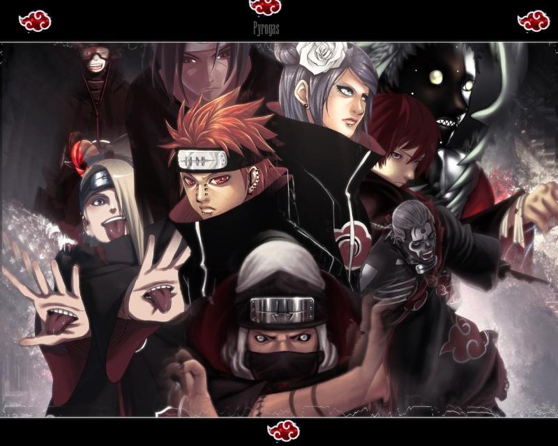 Naruto - [POOL POSITION] Naruto 4 Akatsu10