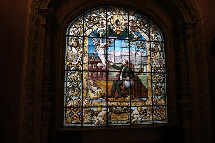 visite au palais de la benedictine a fecamp Dsc02351