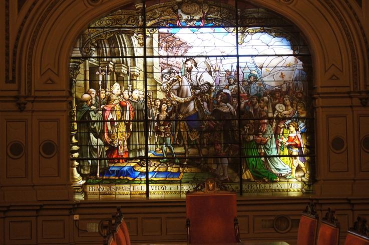 visite au palais de la benedictine a fecamp Dsc02352