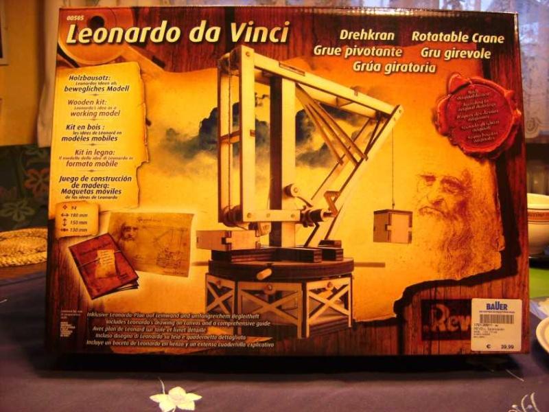 Hinweis zu Revell Leonardo da Vinci Holzbausätzen Bild5357