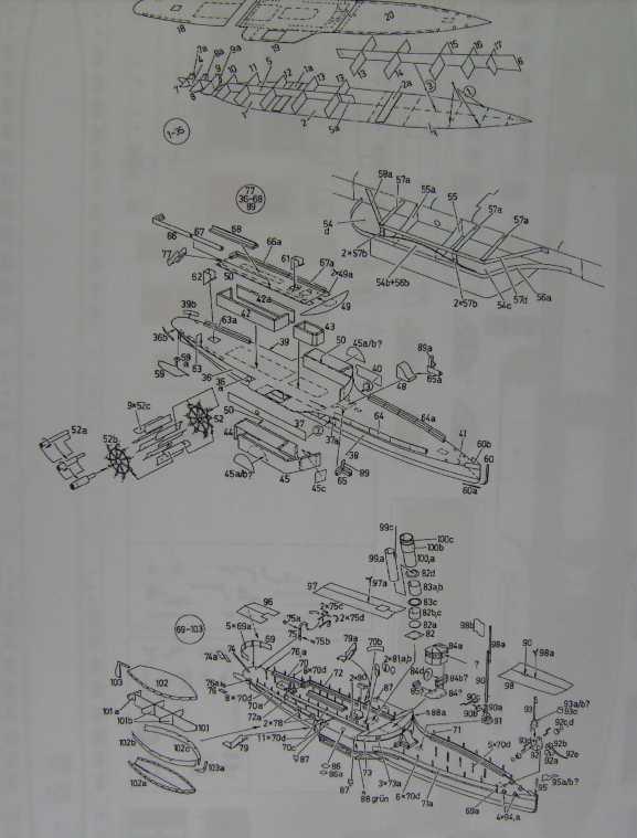 "Raddampfer ""DRESDEN"", M1:250 FERTIG Bild6010"
