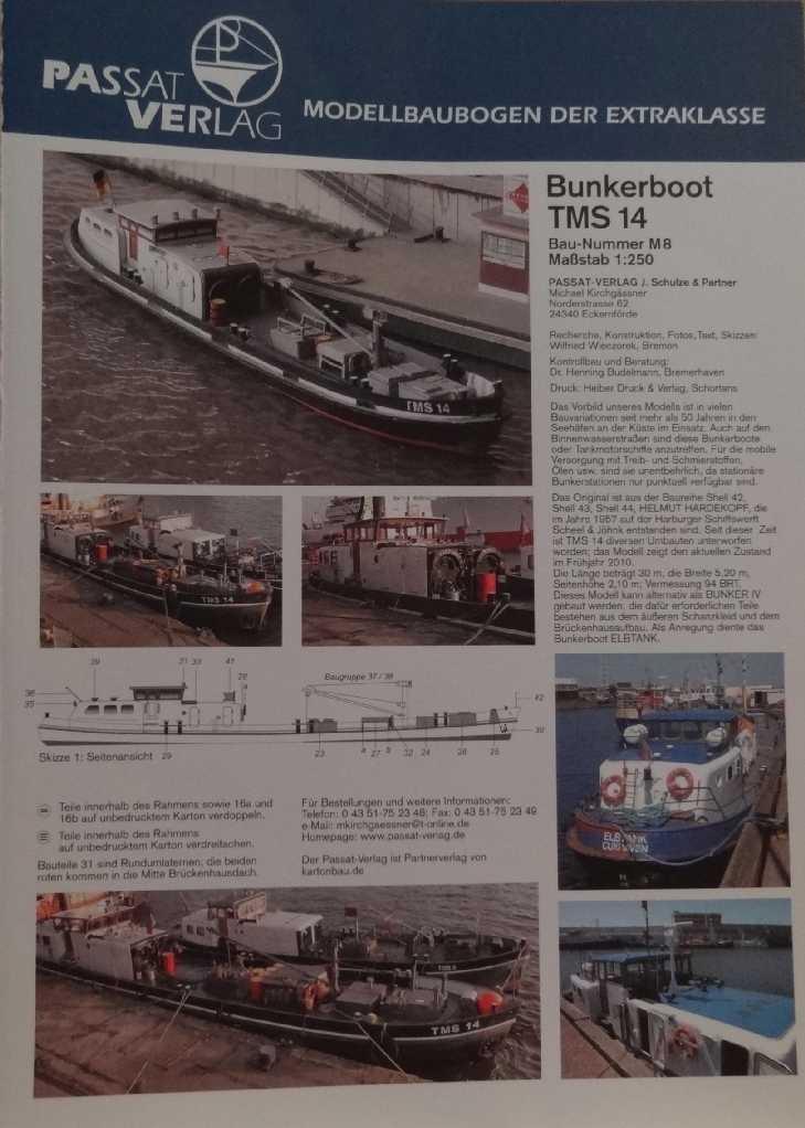 """Bunkerboot """"Bunker IV"""" - Passat-Verlag-1:250 Dsc00911"""