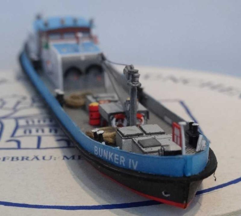 """Bunkerboot """"Bunker IV"""" - Passat-Verlag-1:250 Dsc01221"""