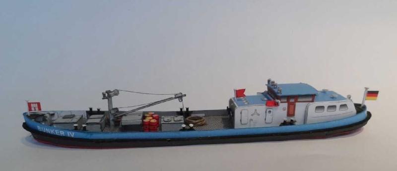 """Bunkerboot """"Bunker IV"""" - Passat-Verlag-1:250 Dsc01224"""