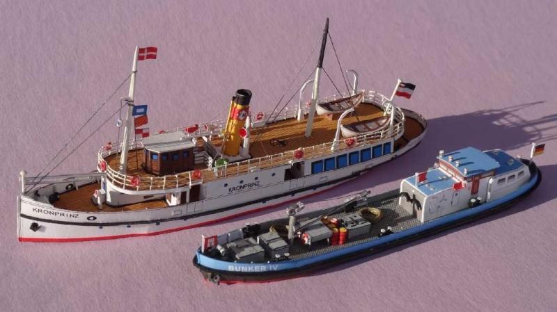"""Bunkerboot """"Bunker IV"""" - Passat-Verlag-1:250 Dsc01227"""