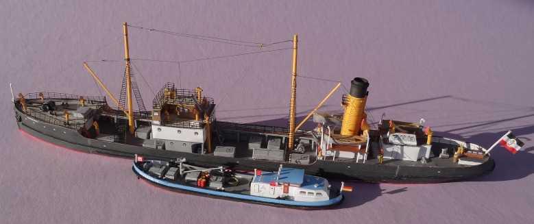"""Bunkerboot """"Bunker IV"""" - Passat-Verlag-1:250 Dsc01228"""